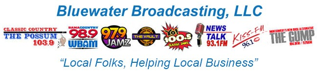 bluewater broadcasting logos